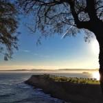 Bruma en la costa cantábrica