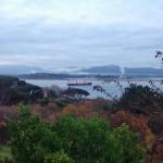 Otoño con vistas a la bahía, el Puntal y Peña Cabarga