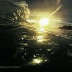 Buceando las olas del Sardinero