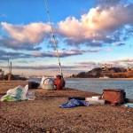 Los bártulos de pesca