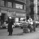 Los guardias, en plena operación de Navidad a mediados de los 60