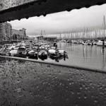Puertochico bajo la lluvia