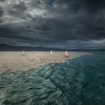 Navegando entre dos aguas en la bahía de Santander