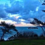 Cuando el cielo le gana en belleza a la mar