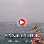 Santander en kayak un sábado cualquiera