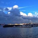 Santander y la bahía entre sol y sombra