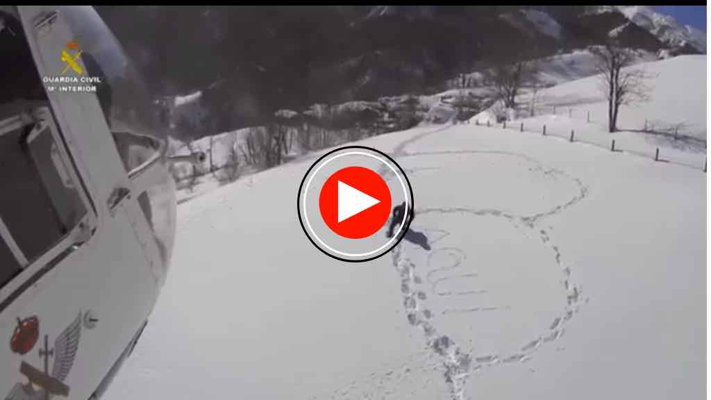 video-guardia-civil-caballos-nevada