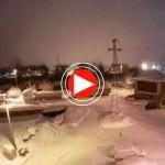 Reinosa. 24 horas de nieve. Desde las 15 horas del 5 de febrero. Timelapse