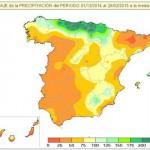 Este invierno en Cantabria ha llovido un 300% más que la media histórica