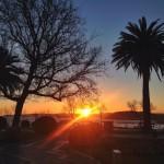 Ver amanecer desde Piquío es un regalo