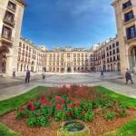 La plaza Porticada está inspirada en la antigua aduana santanderina