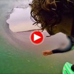 ¿Qué se siente al surfear en Cantabria unos tubos solitarios?
