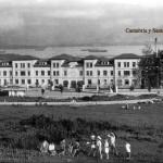Valdecilla cuando el hospital estaba en los antiguos pabellones