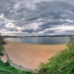 Selva y playa. Cielos de sur. Bahía de Santander