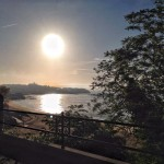 El gran sol. En la bahía. En el Sardinero