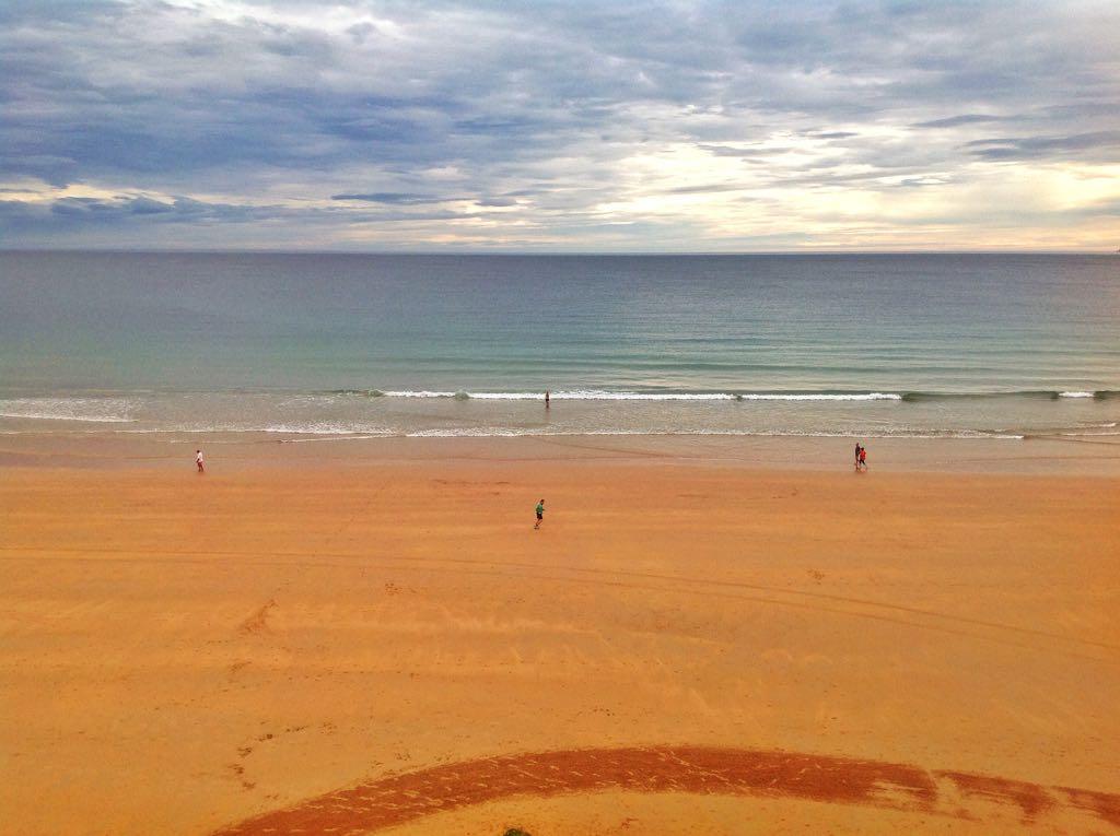 vida-playa-sardinero-horizonte