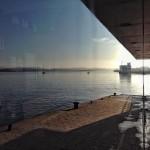 Bajamar en calma. Pesca para empezar el día. Bahía de Santander