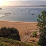 Arriba y abajo. Bahía de Santander