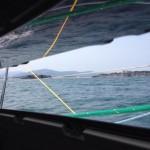 Navegando por el abra del Sardinero