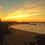 Justo antes de la salida del sol. Bahía de Santander