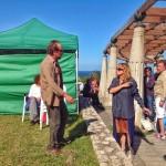 Cantabria, plató de cine. Nos encontramos con Emma Suárez y Gonzalo de Castro en Suances