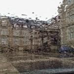 Lluvia tras los cristales