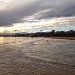 El ojo de sur desde el Sardinero y desde la bahía