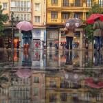 Mañana de paraguas