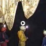 La cueva del Soplao en 1990, antes de ser abierta al público
