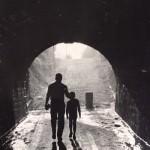 Una foto del antiguo túnel de Tetuán