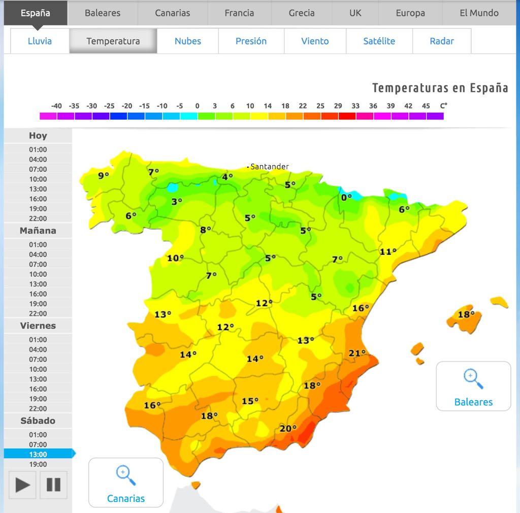 mapa-temperaturas-sábado