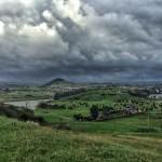 Mañana de nubarrones por el Abra del Pas y Costa Quebrada