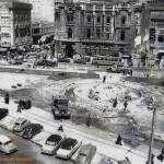 Las obras de ampliación del ayuntamiento de Santander y la construcción de la fuente luminosa. Año 1963