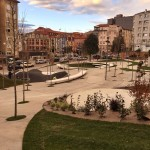 Así ha quedado la nueva plaza de Amaliach del barrio de Tetuán