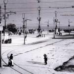La plaza de las Farolas en 1916
