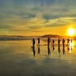 Campos de fútbol que borran las mareas