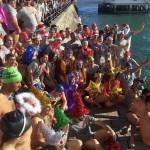 Preparados para pegarse un baño en la bahía de Santander