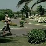 Los jardines de Piquío un día de nordeste de 1958