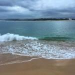 Anatomía de una ola en la bahía