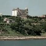 Santander cuando la explanada del museo Marítimo no existía