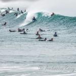 La lucha por la ola