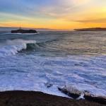 Se levanta el Cantábrico en la isla de Mouro
