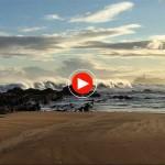 La vida en Santander: Pasar la mañana mirando cómo rompen las olas en el Sardinero