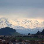 Así se ven los Picos de Europa desde el Parque Tecnológico de Santander
