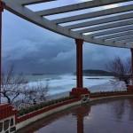 Lluvía, granizo, viento y muchísimo frío