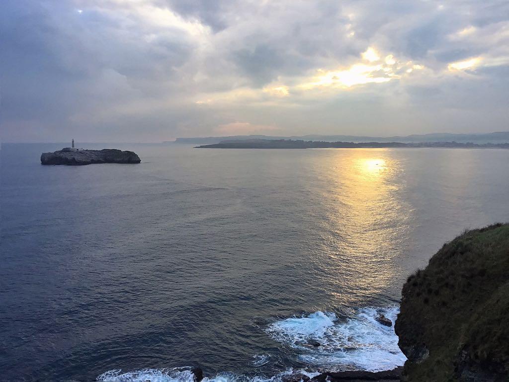 isla-mouro-santander-amanecer