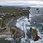 La Arnía desde la alturas. Magnífica Costa Quebrada