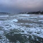Espuma de mar en el Sardinero
