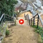 La vida en Santander: Bajamos a la playa de Mataleñas