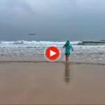 La vida en Santander: Bajamar en el Sardinero